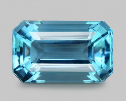 7.59 Cts Unheated Sky Blue Color Natural Apatite Loose Gemstone