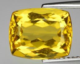 4.40 Cts Natural Fancy Golden Yellow Beryl Loose Gemstone