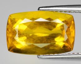 5.13 Cts Natural Fancy Golden Yellow Beryl Loose Gemstone