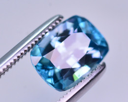 Vibrant Blue ~ 2.95 Ct Natural Zircon From Cambodia. RA2