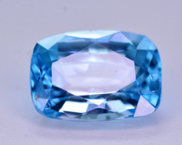 Vibrant Blue ~ 2.20 Ct Natural Zircon From Cambodia. RA2
