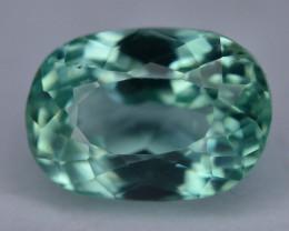 4.15 Ct Green Spodumene Gemstone From Afghanistan~ G AQ