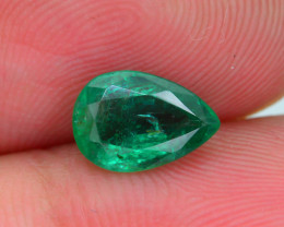 1.22 ct Zambian Emerald Vivid Green SKU-30