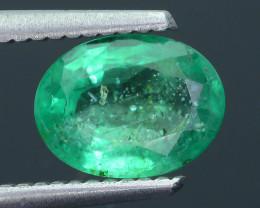 1.51 ct Zambian Emerald Vivid Green SKU-30