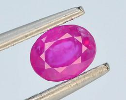 Top Color 0.55 ct Natural Pink  Ruby ~ Jagdalek Afghanistan ~ G AS
