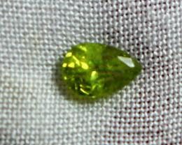 0.35 CT Natural - Unheated  Green Garnet Gemstone