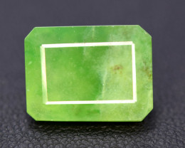 NR Auction 9.65 cts Beautiful Grasolar Idocrase Cabochon