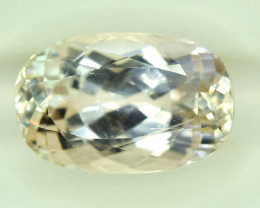 NR Auction 12.80 CT Natural Peach Color Kunzite Gemstone