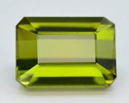 Top Grade 4.90 ct Natural Green Color Tourmaline