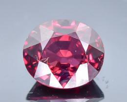 2.28 Crt Natural Rhodolite Garnet Faceted Gemstone.( AB 20)