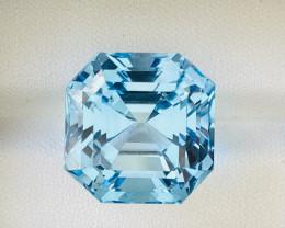 Stunning 31.60 Ct Natural Blue Topaz Gemstone