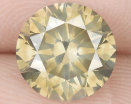 1.69 Cts Untreated Fancy Brownish Yellow Natural Loose Diamond-Si1
