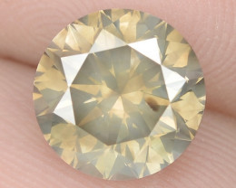 2.01 Cts Untreated Fancy Brownish Yellow Natural Loose Diamond-Si1