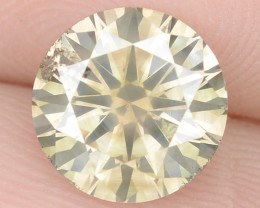 1.60 Cts Untreated Fancy Brownish Yellow Natural Loose Diamond-Si1