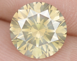 1.65 Cts Untreated Fancy Brownish Yellow Natural Loose Diamond-Si1