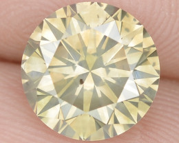 1.74 Cts Untreated Fancy Brownish Yellow Natural Loose Diamond-Si1