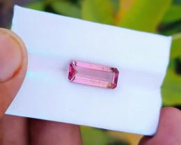 5.20 Ct Natural Pinkish Transparent Tourmaline Gemstone