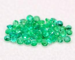 Emerald 1.79Ct Natural Colombian Green Color Emerald A0909