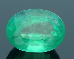 2.18 ct Zambian Emerald Vivid Green Color SKU-30