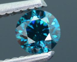 Electric Blue Diamond 0.48 ct Stunning Brilliance SKU-15