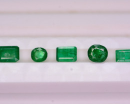 Amazing Color 2.15 Ct Natural Swat Emerald. H