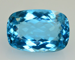21.30 CT NATURAL BLUE SWISS TOPAZ GEMSTONE