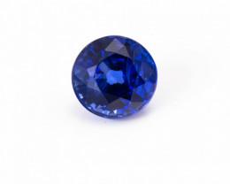 5.18 mm Sapphire 0.81 ct  Sri Lanka GPC Lab