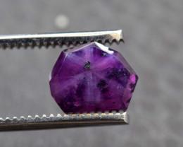 Rarest 4.70 ct Bluish Pink Kashmir Sapphire Trapiche