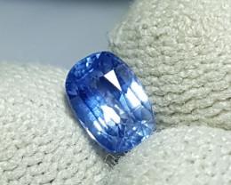 NO HEAT 1.07 CTS CERTIFIED NATURAL STUNNING CORNFLOWER BLUE SAPPHIRE CEYLON
