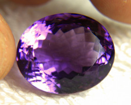 32.23 Ct. VVS Brazilian Flashy Purple Amethyst - Gorgeous