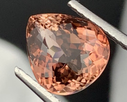 """""""NR""""5.95 Cts! Top Quality Pinkish Brown Natural Tourmaline Fine Luster"""