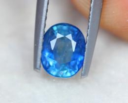 1.08Ct Natural Blue Sapphire Oval Cut Lot LZB659