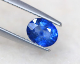 1.05Ct Natural Blue Sapphire Oval Cut Lot LZB656