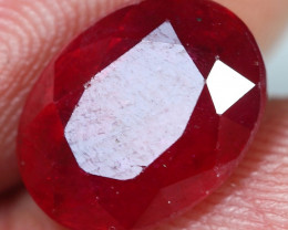 5.75cts Red Ruby Gemstone