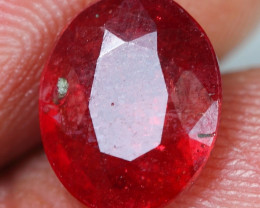 3.30cts Blood Red Ruby Gemstone
