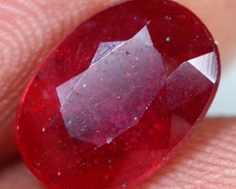 3.85cts Blood Red Ruby Gemstone