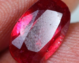 2.90cts Sparkling Red Ruby Gemstone