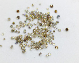 3.03ct  Fancy Colored  Diamond Parcel , 100% Natural Untreated