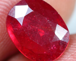 3.25cts Blood Red Ruby Gemstone