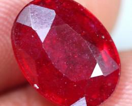 6.25cts Wonderful Red Ruby Gemstone