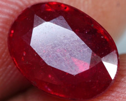3.40cts Beautiful Red Ruby Gemstone
