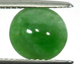 ~UNTREATED~ 2.29 Cts Natural Green Jade Cabochon Burmese