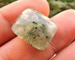 21.00ct DELIGHTFUL PREHNITE CAB FROM AFRICA