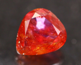 Unheated Ruby 1.67Ct Natural Vivid Red Madagascar Ruby A1101