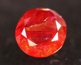 Unheated Ruby 1.06Ct Natural Vivid Red Madagascar Ruby A1103