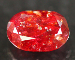 Unheated Ruby 1.82Ct Natural Vivid Red Madagascar Ruby A1109
