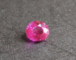 0.49ct Natural hot pink sapphire from Myanmar