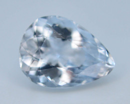 Top Grade 2.70 ct Attractive Color Aquamarine ( Goshenite )