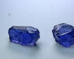 17.90 CT Natural - Unheated  Blue Iolite Rough