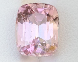 Assher cut 5.97 Carats Natural Pink  Color Tourmaline Gemstone from AFGHANI